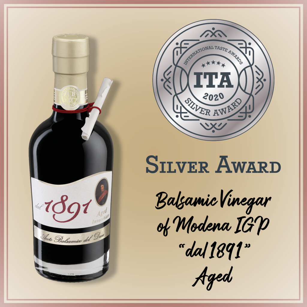 Balsamic Vinegar of Modena IGP since 1891_silver award