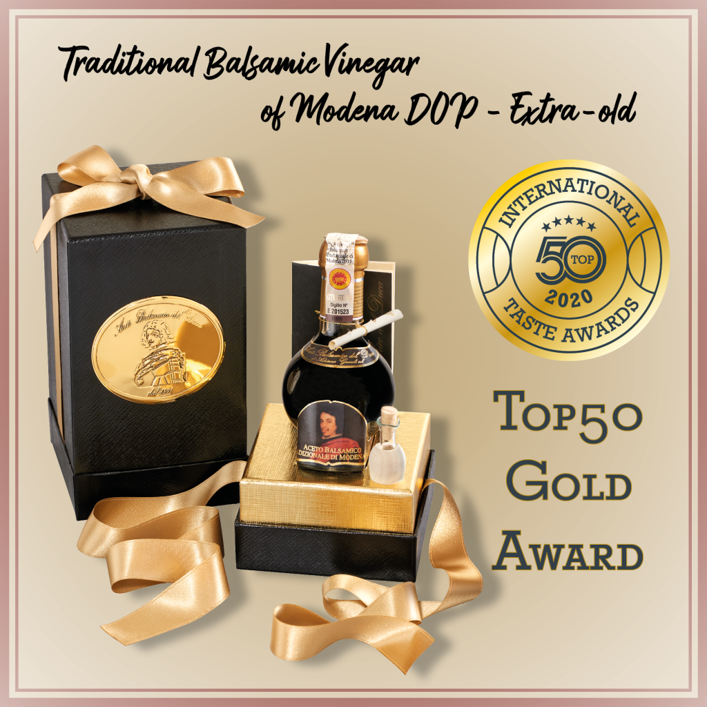 Traditional Balsamic Vinegar of Modena DOP_top50 award